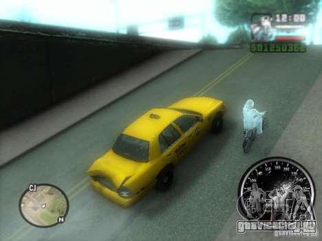Гололёд для GTA San Andreas третий скриншот