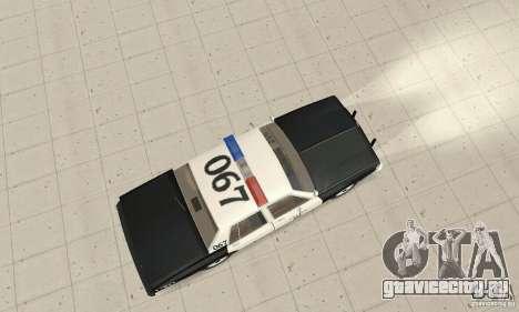 Chevrolet Caprice Interceptor 1986 Police для GTA San Andreas