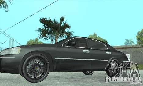 Lincoln Town Car 2002 для GTA San Andreas вид справа