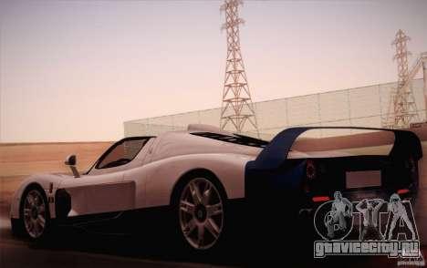 Maserati MC12 V1.0 для GTA San Andreas вид слева