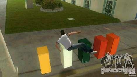 Cleo Parkour for Vice City для GTA Vice City пятый скриншот