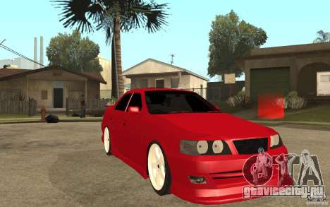 Toyota Chaser Tourer V JZX100 1999 для GTA San Andreas вид сзади
