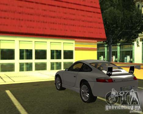 Porsche 911 GT3 для GTA San Andreas вид слева