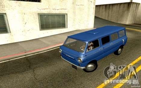 ЗАЗ 970 для GTA San Andreas вид сзади