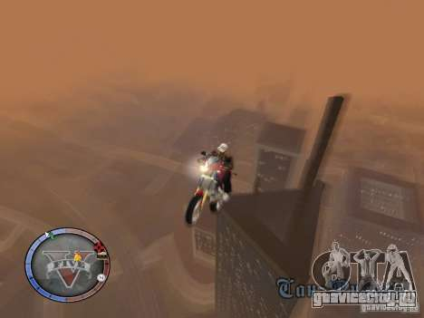 GTA 5 HUD для GTA San Andreas