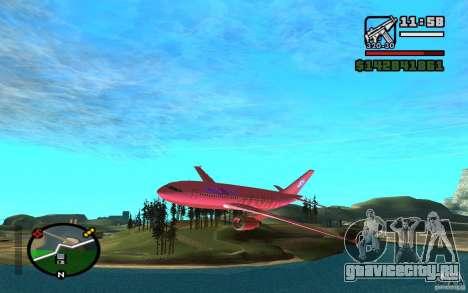 Airbus A-310 S7 SanFierroAir для GTA San Andreas