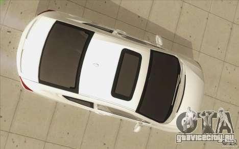 Honda Civic SI 2012 для GTA San Andreas вид снизу