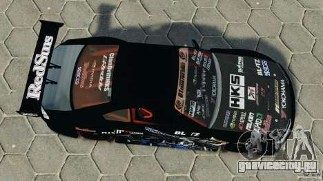 Nissan Silvia S15 HKS для GTA 4 вид справа