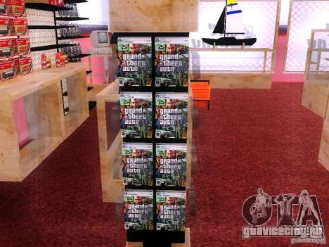Диски с GTA в магазине Зеро для GTA San Andreas
