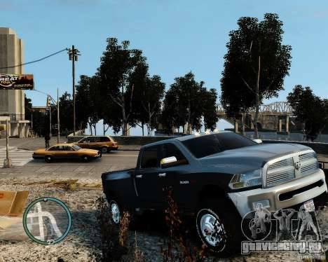 Dodge Ram 3500 Stock для GTA 4