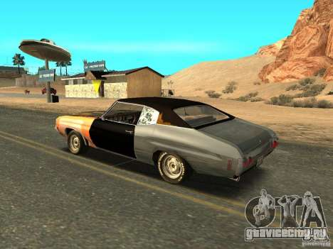 Chevrolet Chevelle Rustelle для GTA San Andreas вид слева