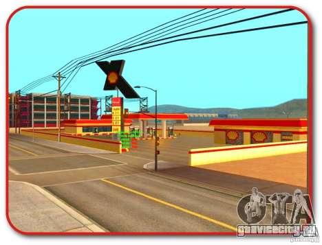 Новая заправка Shell для GTA San Andreas четвёртый скриншот