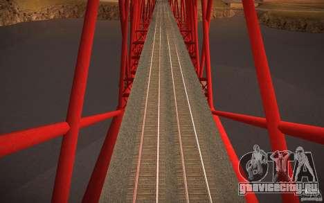 HD Рельсы для GTA San Andreas четвёртый скриншот
