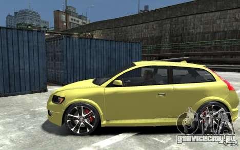 Volvo C30 T5 R-Design 2009 для GTA 4 вид слева
