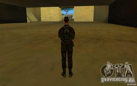 HQ skin Army для GTA San Andreas пятый скриншот