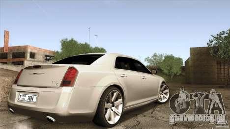 Chrysler 300C V8 Hemi Sedan 2011 для GTA San Andreas вид слева