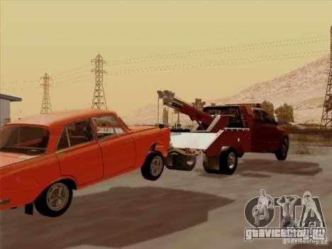 Dodge Ram 3500 TowTruck 2010 для GTA San Andreas вид сзади