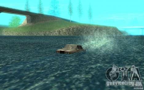 Admiral Boat для GTA San Andreas