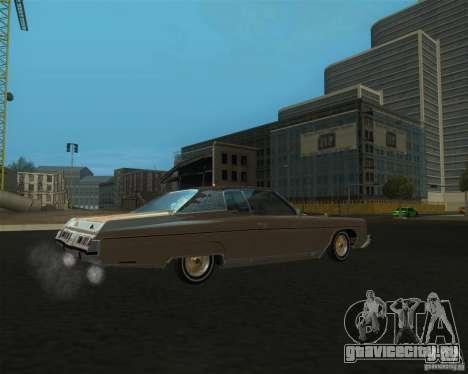 Chevrolet Caprice Classic lowrider для GTA San Andreas вид слева