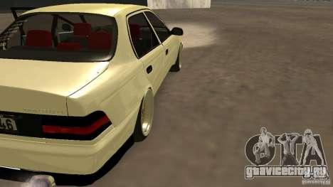 Toyota Corolla Tuned для GTA San Andreas вид слева