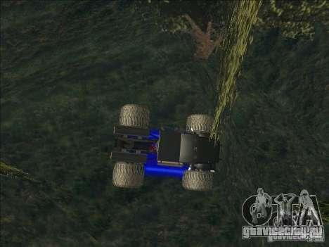 Monsterous Truck для GTA San Andreas вид слева