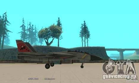 F14W Super Weirdest Tomcat Skin 2 для GTA San Andreas вид слева
