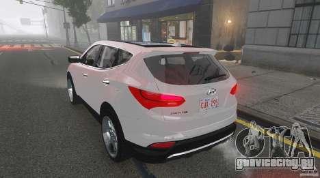 Hyundai Santa Fe Sport 2013 для GTA 4 вид сверху