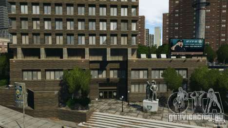 Remake second police station для GTA 4