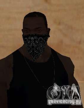New Bandanas Style для GTA San Andreas пятый скриншот