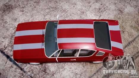 Audi 100 Coupe S для GTA 4 вид снизу