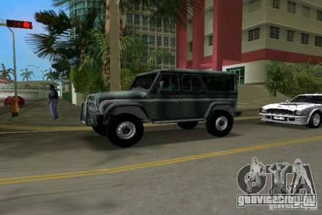 УАЗ-3153 для GTA Vice City вид сзади слева