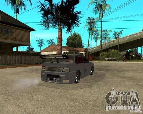 ВАЗ 2115 MCC для GTA San Andreas вид сзади слева