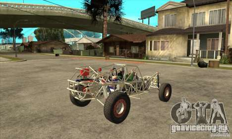 Dirt 3 Stadium Buggy для GTA San Andreas вид справа