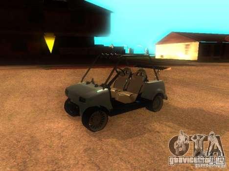CADDY v1.0 рестайлинг для GTA San Andreas