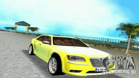 Lancia Nuova Thema для GTA Vice City вид сзади