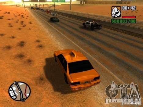 Песчаная буря для GTA San Andreas третий скриншот