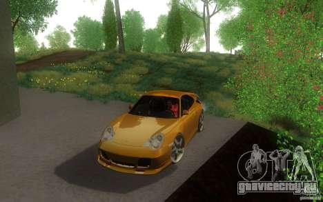 Ruf R-Turbo для GTA San Andreas вид слева