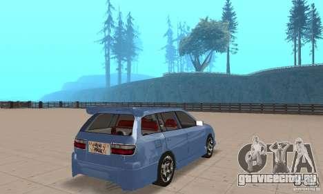 Toyota Carina 1996 для GTA San Andreas вид слева