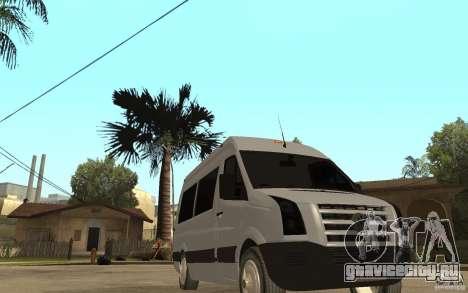 Volkswagen Crafter school bus для GTA San Andreas вид сзади