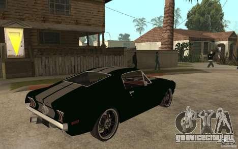 Ford Mustang TOKYO DRIFT для GTA San Andreas вид справа