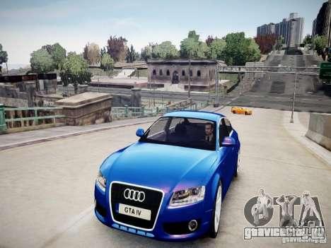 Audi A5 Sportback для GTA 4 вид справа