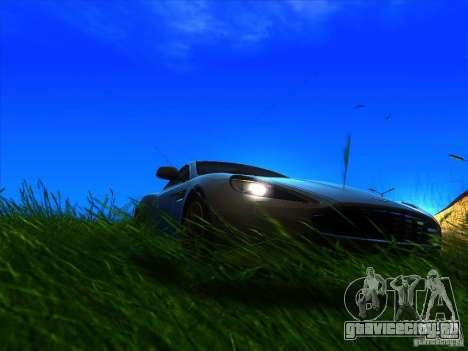 Aston Martin Virage 2011 Final для GTA San Andreas вид справа