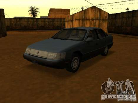 Mercury Sable GS 1989 для GTA San Andreas