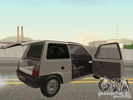 ВАЗ 1111 Ока Белка для GTA San Andreas вид сзади