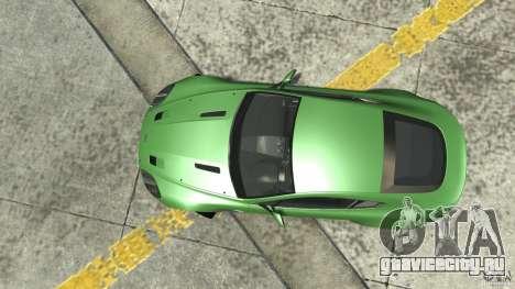 Aston Martin V8 Vantage N400 для GTA 4 вид справа