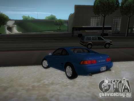 Toyota MR2 GT для GTA San Andreas вид сзади слева