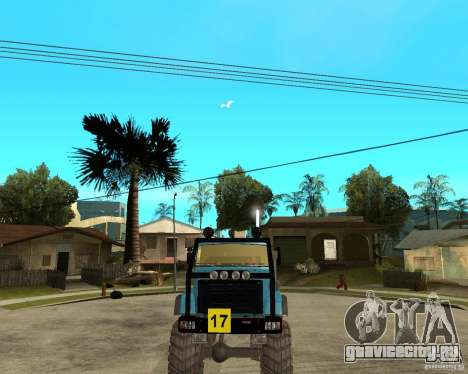 ЗИЛ 4421 РАЛЛИ для GTA San Andreas вид сзади