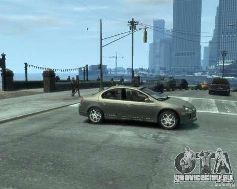 Dodge Neon 02 SRT4 для GTA 4 вид справа