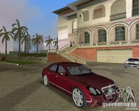 Maybach 57 для GTA Vice City