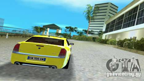 Lancia Nuova Thema для GTA Vice City вид справа